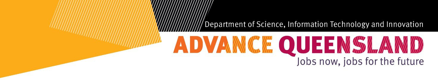 Company logo for Department of Science, Information Technology and Innovation