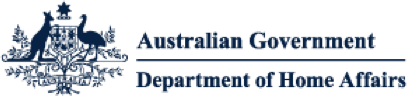 Company logo for Department of Home Affairs