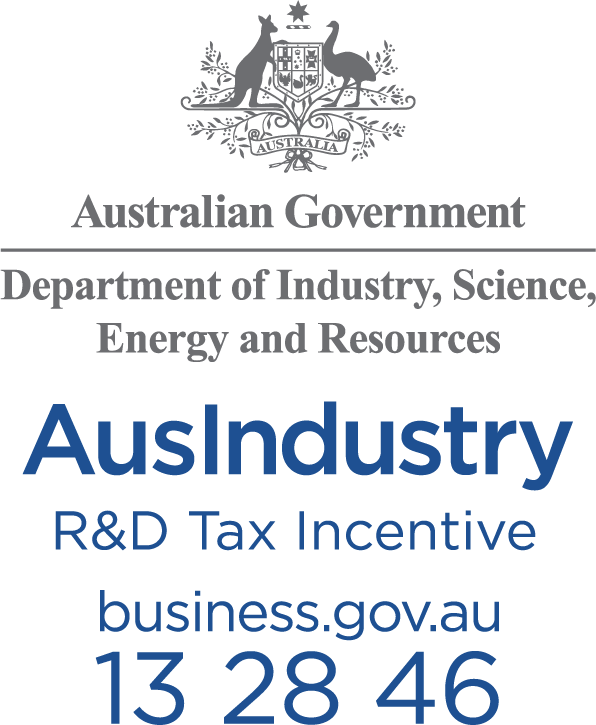 Company logo for AusIndustry: R&D Tax Incentive program