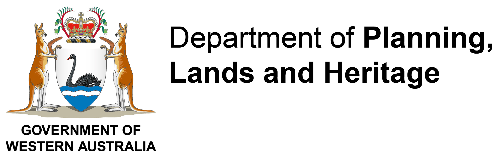Company logo for Department of Planning, Lands and Heritage